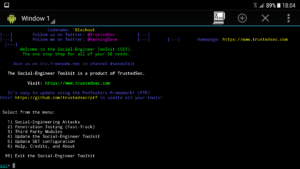 how to install setoolkit on termux