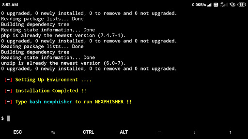 Nexphisher : advanced phishing tool for Termux & linux