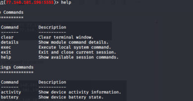 hack android with ip address
