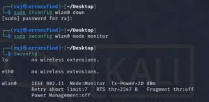 enable monitor mod