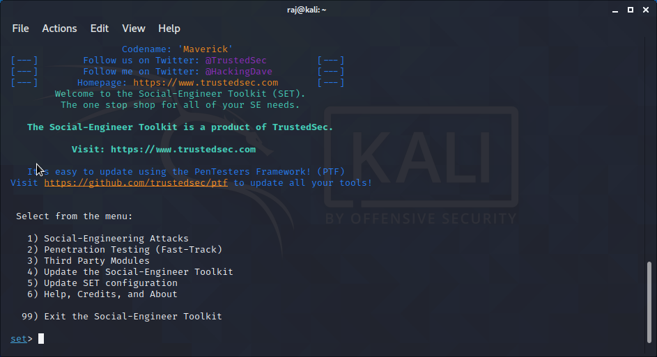 Mass Mailer Attack – setoolkit tutorial