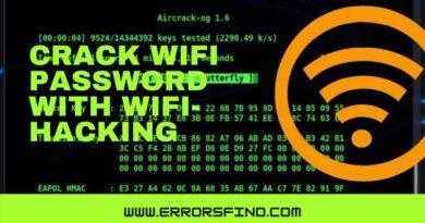 wireless pen-testing tool - wifi password hacker