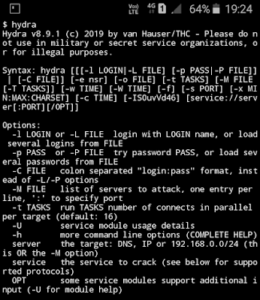 how to install hydra tool on termux application