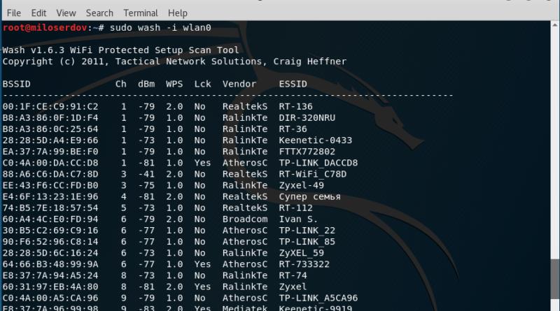 how to hack WPS WIFI password