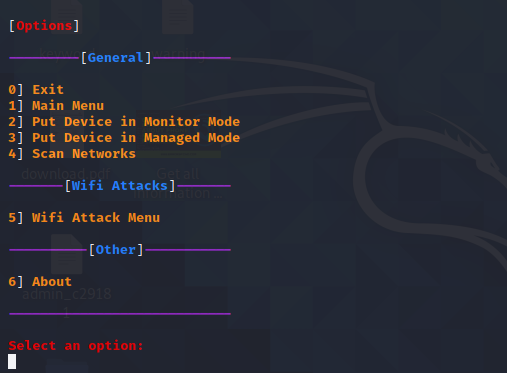 OWT the most compact WiFi auditing tool