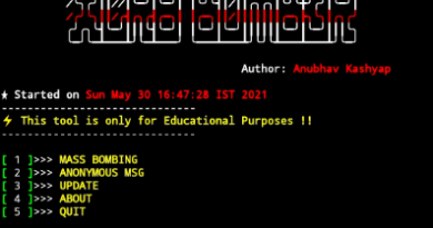 Top best sms and call bomber for termux and non termux