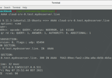 Dnsstager - hide and transfer your payload using DNS
