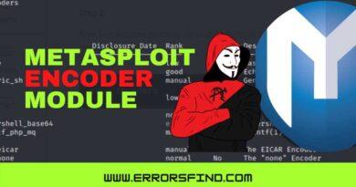 How to use metasploit encoder module