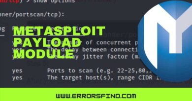 how to use payload module in metasploit