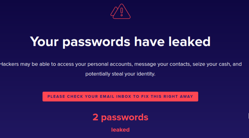 How to find whether the email password is leaked?