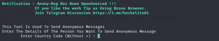 Send message (SMS) without phone number on termux-Free